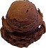 Chocolate 2 Scoop fake ice cream NO CONE USA
