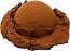 Chocolate Single Scoop fake ice cream NO CONE USA