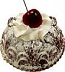 Small Bundt Cake Chocolate Cherry Fake Food USA