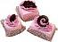 Mini Fakey Designer Pink Cakes 3 pack Petit Fours USA