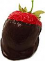 Chocolate Dipped Strawberry fake chocolate USA