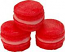 Pink Strawberry Fake Macarons (Macaroon) with Cream 3 Pack U.S.A.