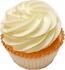 Yellow Plain Fake Cupcake