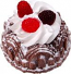Small Bundt Cake Chocolate Raspberry Fake Food USA