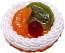 Mixed Fake Fruit Tart 3 inch USA