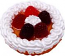 Berry Fake Fruit Tart 3 inch USA