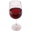 Red Wine Glass fake drink USA