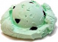 Chocolate Mint Single Scoop fake ice cream NO CONE USA