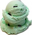 Chocolate Mint 2 Scoop fake ice cream NO CONE USA