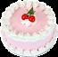 Cherry fake cake 9 inch USA