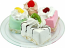 Mini Fruit Fakey Cakes 4 pack Fake Petit Fours USA