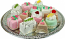 Mini Mixed Fakey Cakes 12 pack Assortment Petit Four