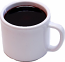 Coffee Cup Fake Drink Melamine Mug Plastic USA