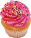 Strawberry Fake Cupcake USA