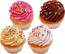 Fake Cupcakes 4 Pack Sprinkle Cupcake USA