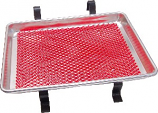 Small Car Hop Tray with Red Mat U.S.A.