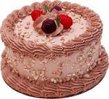 """Raspberry Mocha Fake Cake 6"""" U.S.A."""