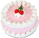 Cherry fake cake 9 inch USA