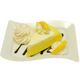 Lemon Cake Fake Dessert Plate USA