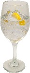 Ice Water fake drink Glass USA