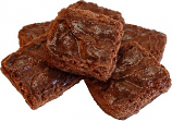 Chocolate Fake Brownies 6 Pack USA