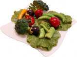 Salad Plate Fake Food USA