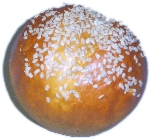 Sesame Roll fake bread USA