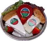 Cheese Tray 10pc. Fake cheese & grapes assortment USA