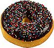 Chocolate with Sprinkles fake doughnut soft touch Donut USA