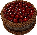 Cherry Chocolate Gel Cake 9 inch USA