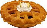 """Potpourri Pie 9"""" Country Apple Fragrance Fake Food USA"""