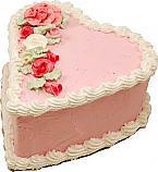 Heart Fake Cake 7 inch USA