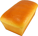 Loaf of White fake Bread USA