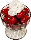 Strawberry Dish Fake Dessert USA