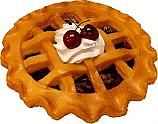 "Potpourri Pie 9"" Cherry Fragrance Fake Food USA"