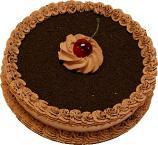 Chocolate Mocha Short Fake Cake USA