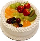 Vanilla Fake Fruit Cake 9 inch USA