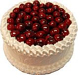 Cherry White Gel Cake 9 inch USA