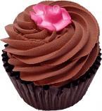 Chocolate Rose Fake Cupcake Chocolate