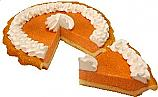 Pumpkin Pie Cream Artificial Pie with Slice Fake Pie USA