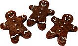 Ginger Bread Fake Cookie 3 Piece USA