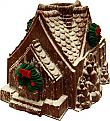 Gingerbread House Christmas Fake Food USA