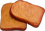 Toast 2 pack Soft Touch fake bread USA