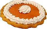 Pumpkin Pie with Cream Fake Pie USA