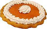 Pumpkin Pie with Cream Fake Pie USA